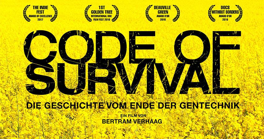 """EINLADUNG: Dokumentarfilm """"Code of Survival"""" im Kloster Reisach"""