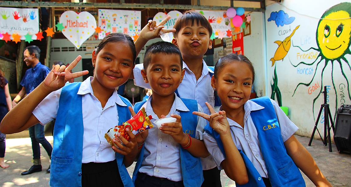 Audorfer GRÜNE unterstützen Projekte in Kambodscha